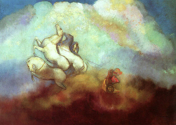 Painting - Phaeton by Odilon Redon