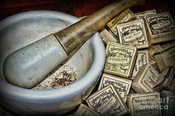 Wall Art - Photograph - Pharmacy-herbal Medicine by Paul Ward