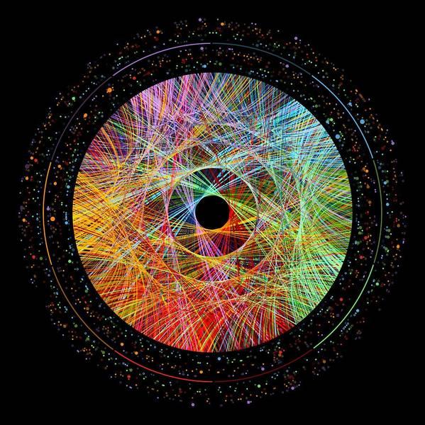 Wall Art - Digital Art - Phi Transitions by Martin Krzywinski