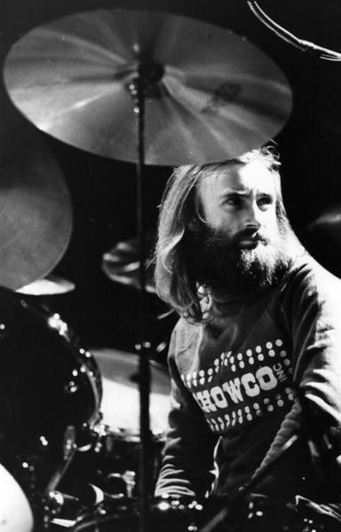 Rock Music Photograph - Phil Collins by Graham Wood