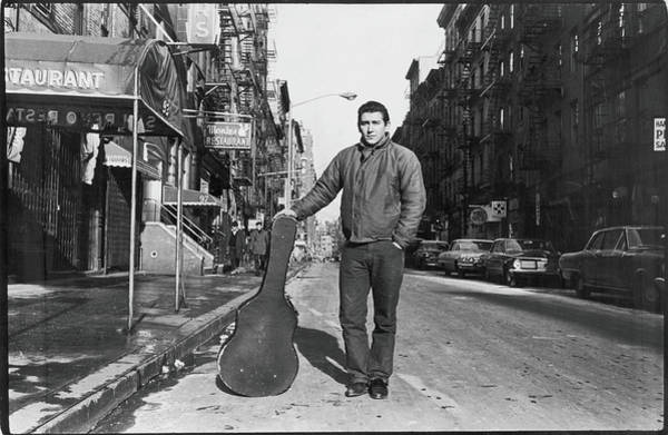 Politics Photograph - Phil Ochs In The Village by Fred W. McDarrah