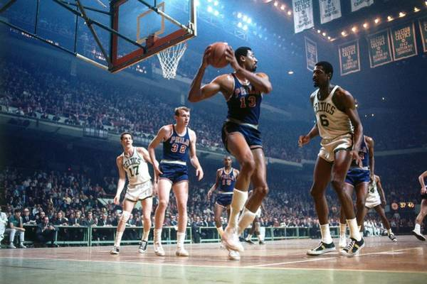 Photograph - Philadelphia 76ers V Boston Celtics by Dick Raphael