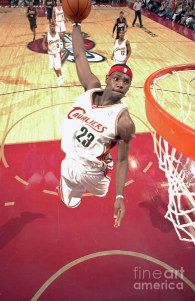 Wall Art - Photograph - Philadelphia 76ers V Cleveland Cavaliers by Garrett Ellwood