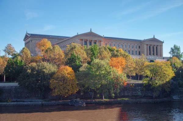 Photograph - Philadelphia Art Museum In Autumn by Bill Cannon