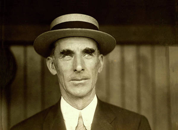 Photograph - Philadelphia A's Baseball Manager Connie Mack by Digital Reproductions