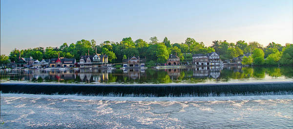 Photograph - Philadelphia - Boathouse Row Panorama by Bill Cannon