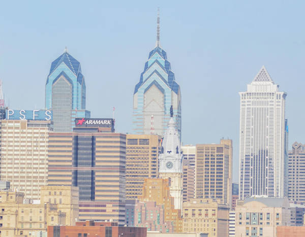 Wall Art - Photograph - Philadelphia Center City - Skyline by Bill Cannon