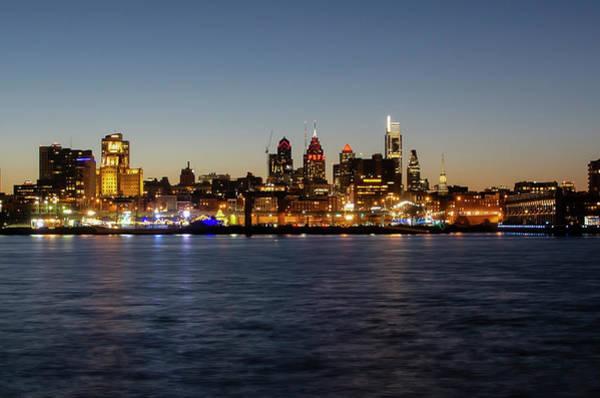 Wall Art - Photograph - Philadelphia - Cityscape On The Delaware 2019 by Bill Cannon