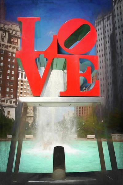 Wall Art - Photograph - Philadelphia Love  by Carol Japp