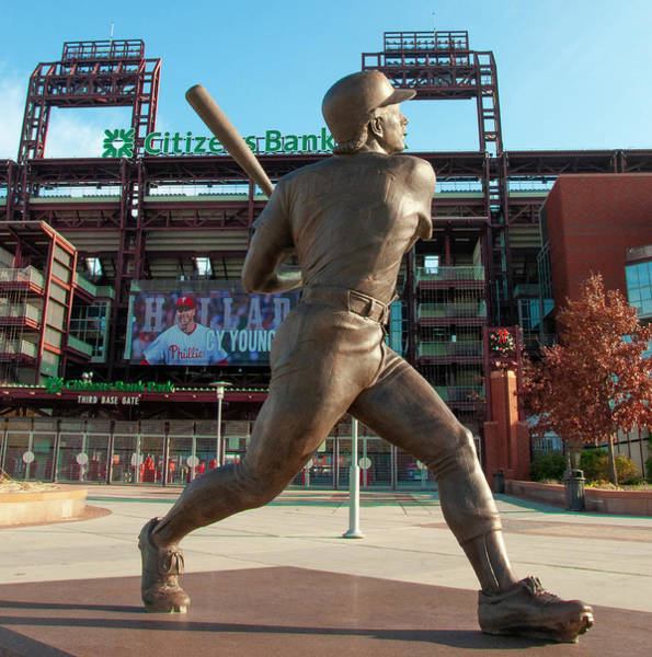 Photograph - Philadelphia Phillies - Mike Schmidt - Citizens Bank Park by Bill Cannon
