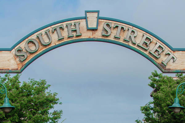Wall Art - Photograph - Philadelphia - South Street Sign by Bill Cannon