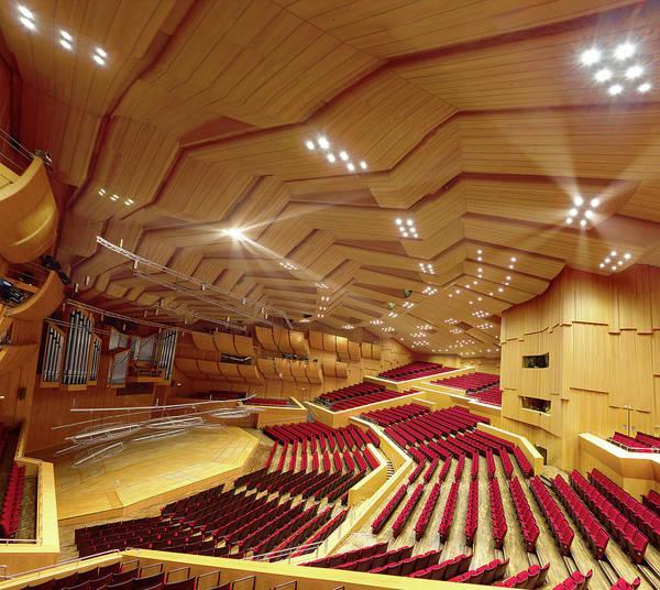 Auditorium Photograph - Philharmonie Munich by Christian Beirle González