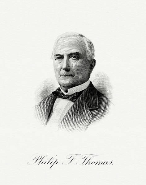 Matter Painting - Philip Francis Thomas by The Bureau of Engraving and Printing