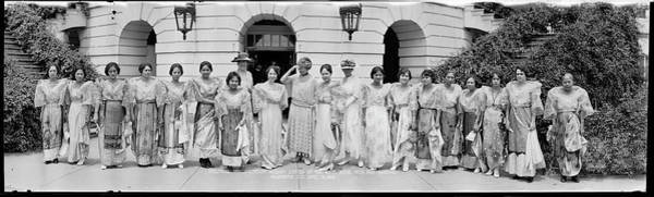 Wall Art - Photograph - Philippine Parliamentary Mission Ladies by Fred Schutz Collection