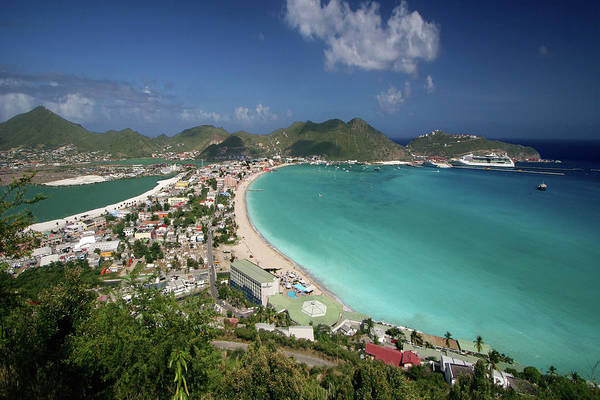 Greater Antilles Photograph - Philipsburg From Above I by Photo ©tan Yilmaz