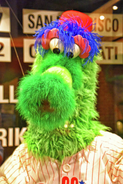 National Baseball Hall Of Fame Photograph - Phillie Phanatic by Mike Martin