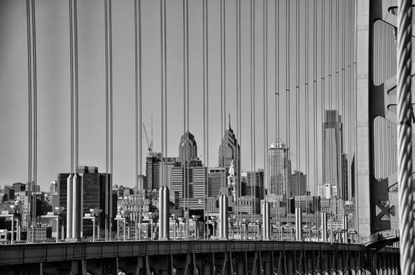 Wall Art - Photograph - Philly Strings In Black And White by Bill Cannon