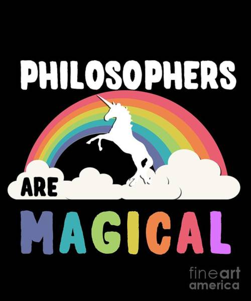 Philosopher Digital Art - Philosophers Are Magical by Flippin Sweet Gear