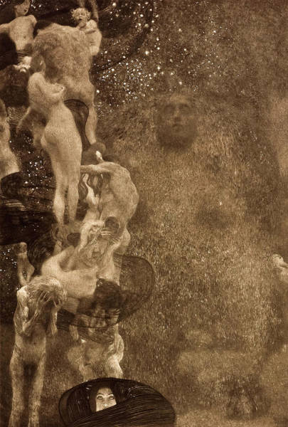 Wall Art - Painting - Philosophy, 1899 by Gustav Klimt
