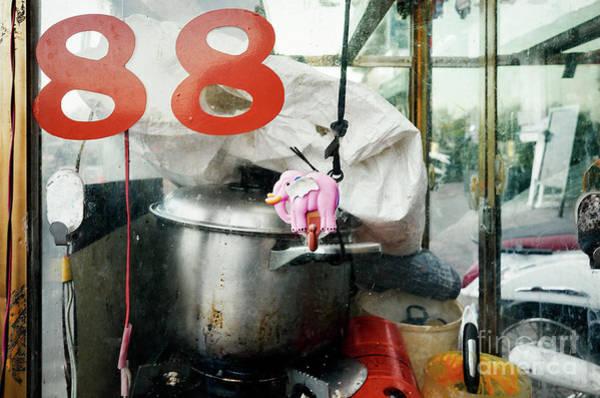 Wall Art - Photograph - Phnom Penh Street Food Cart by Dean Harte