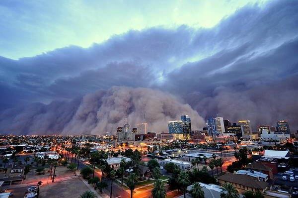 Wall Art - Photograph - Phoenix Dust Storm by Daniel J Bryant