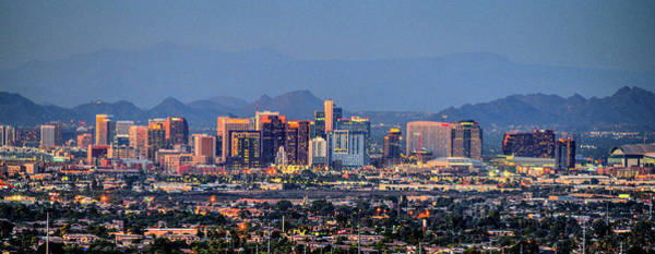 Photograph - Phoenix Skyline Dusk  by Chance Kafka