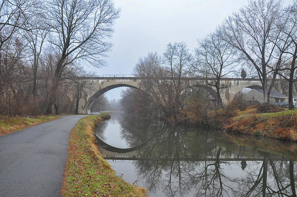 Wall Art - Photograph - Phoenixville Pa - The Canal by Bill Cannon