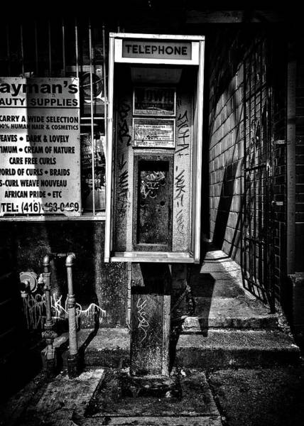 Photograph - Phone Booth No 2 by Brian Carson