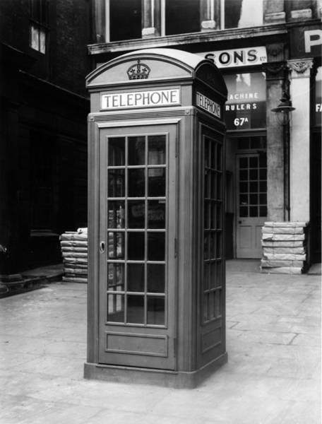 English Culture Photograph - Phone Box by King
