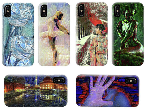 Digital Art - Phone Cases Samples by Alex Mir