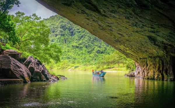 Photograph - Phong Nha Boat Vietnam by Gary Gillette