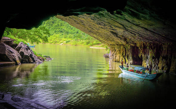 Photograph - Phong Nha Entrance by Gary Gillette