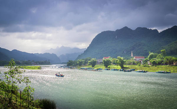 Photograph - Phong Nha River Vietnam by Gary Gillette