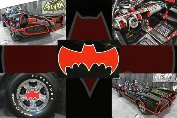 Photograph - Photo Collection Of '66 Batmobile by Daniel Adams