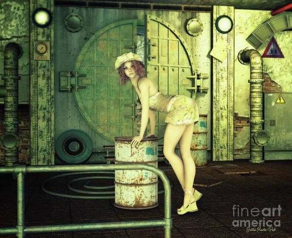 Digital Art - Photo Location by Jutta Maria Pusl