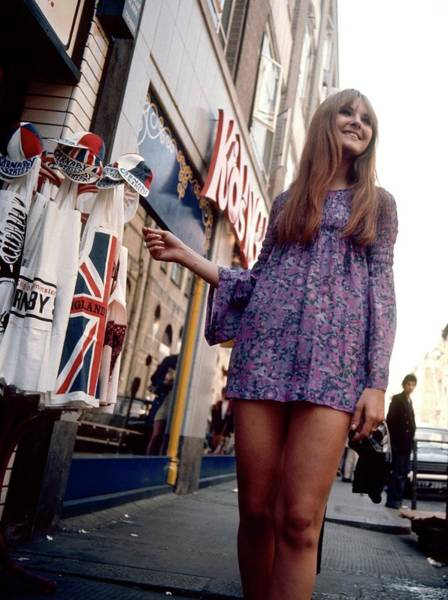 Photograph - Photo Of 60s And 60s Style by David Redfern