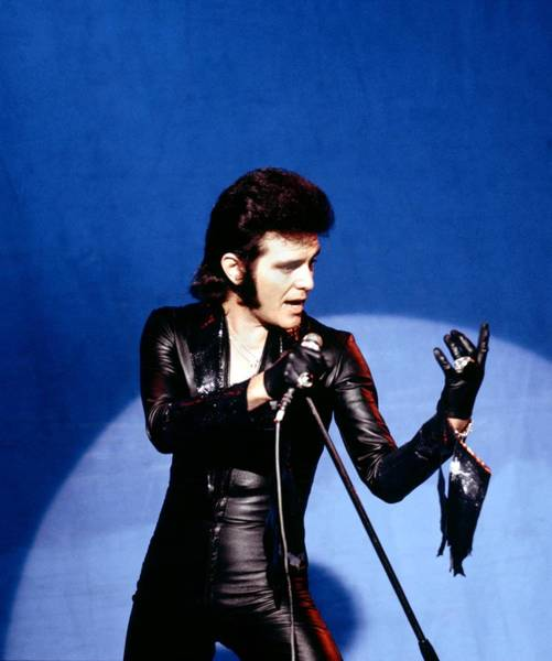 Photograph - Photo Of Alvin Stardust by David Redfern