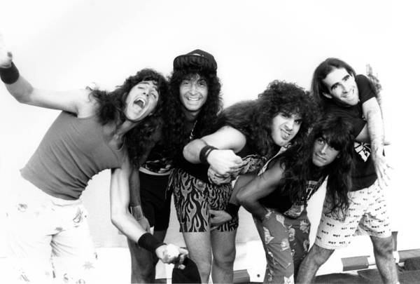 Thrash Metal Wall Art - Photograph - Photo Of Anthrax by Mike Cameron