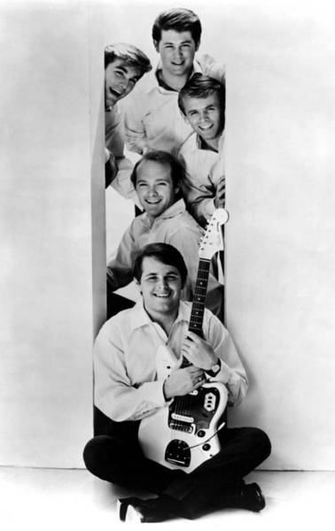 Emotion Photograph - Photo Of Beach Boys And Al Jardine And by Ca