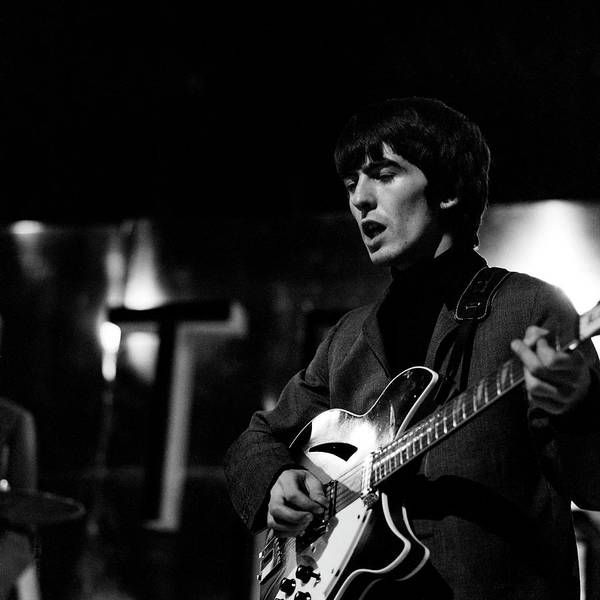 George Harrison Photograph - Photo Of Beatles And George Harrison by David Redfern