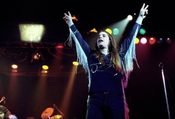 Ozzy Osbourne Wall Art - Photograph - Photo Of Black Sabbath by Fin Costello