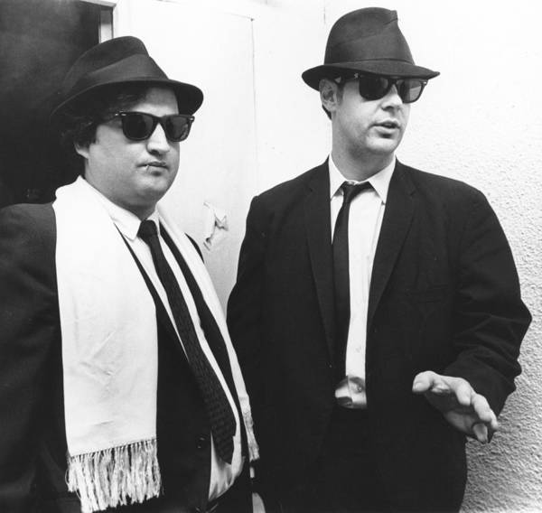 Brother Photograph - Photo Of Blues Brothers by Richard Mccaffrey