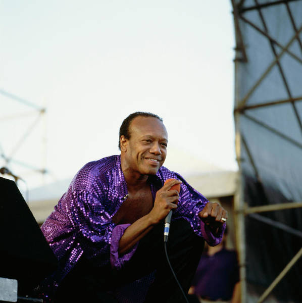 Photograph - Photo Of Bobby Womack by David Redfern