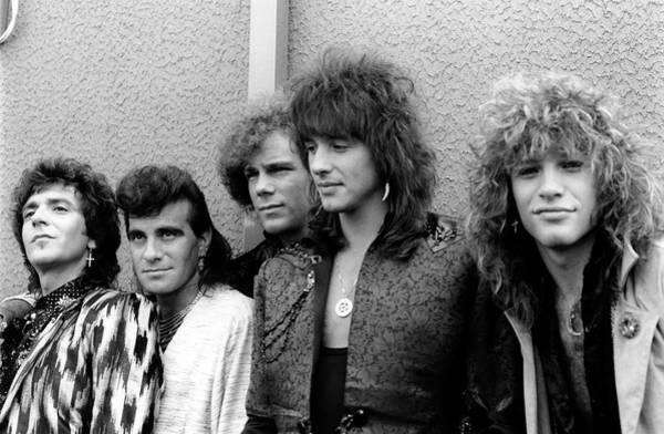 Photograph - Photo Of Bon Jovi And Richie Sambora by Mike Cameron