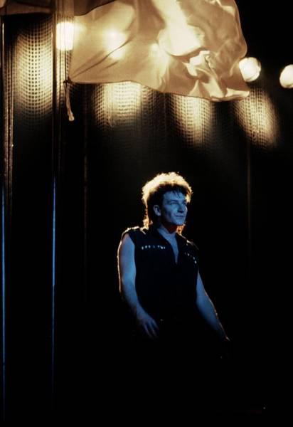 U2 Photograph - Photo Of Bono And U2 by Pete Cronin