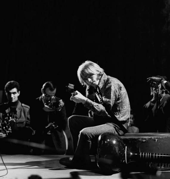 Photograph - Photo Of Brian Jones And Rolling Stones by David Redfern