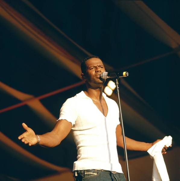 Photograph - Photo Of Brian Mcknight by David Redfern