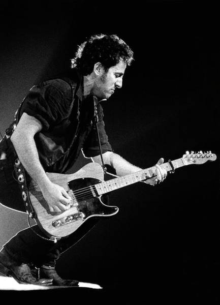 Wall Art - Photograph - Photo Of Bruce Springsteen by Paul Bergen
