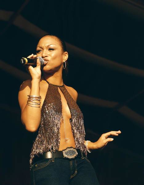 Photograph - Photo Of Chante Moore by David Redfern