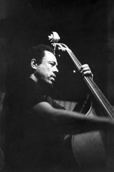 Charlie Photograph - Photo Of Charlie Mingus by Michael Ochs Archives